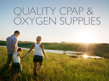 Quality CPAP & Oxygen Supplies
